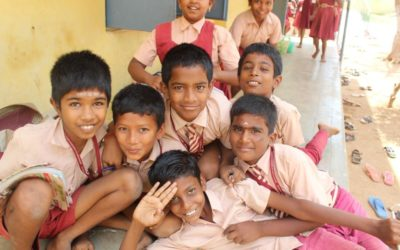 Gémo helps completely renovate a school in India